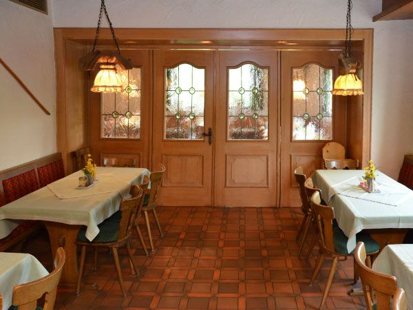 Gasthaus 'Zum Hirsch' kleines Nebenzimmer