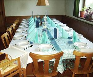 """Feste ausrichten im Gasthof """"Zum Hirsch"""""""