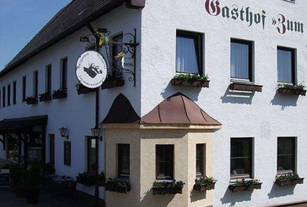 Gasthaus 'Zum Hirsch' von außen